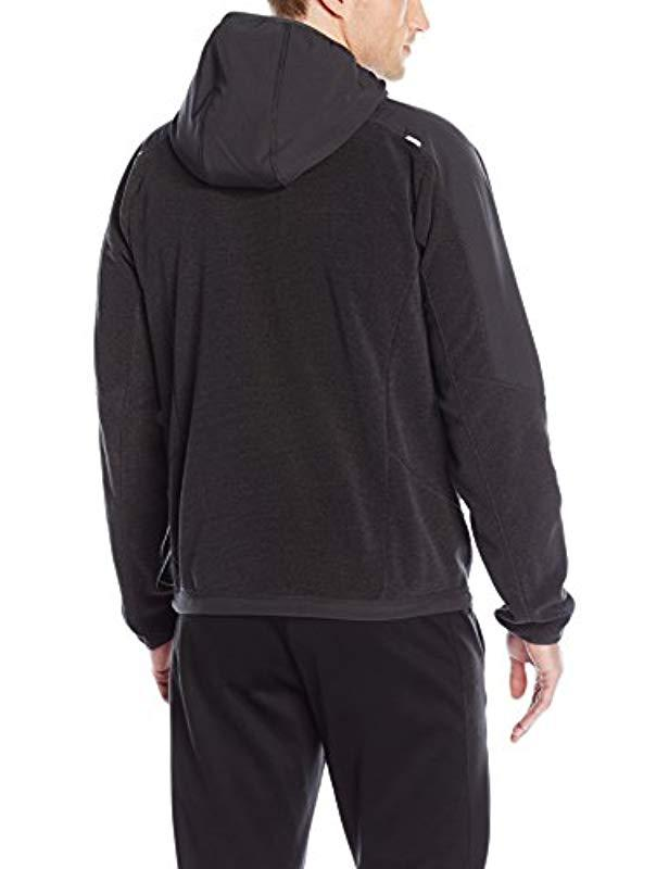 a74b8dcc3f4 Lyst - Champion Hooded Textured Fleece Jacket in Blue for Men