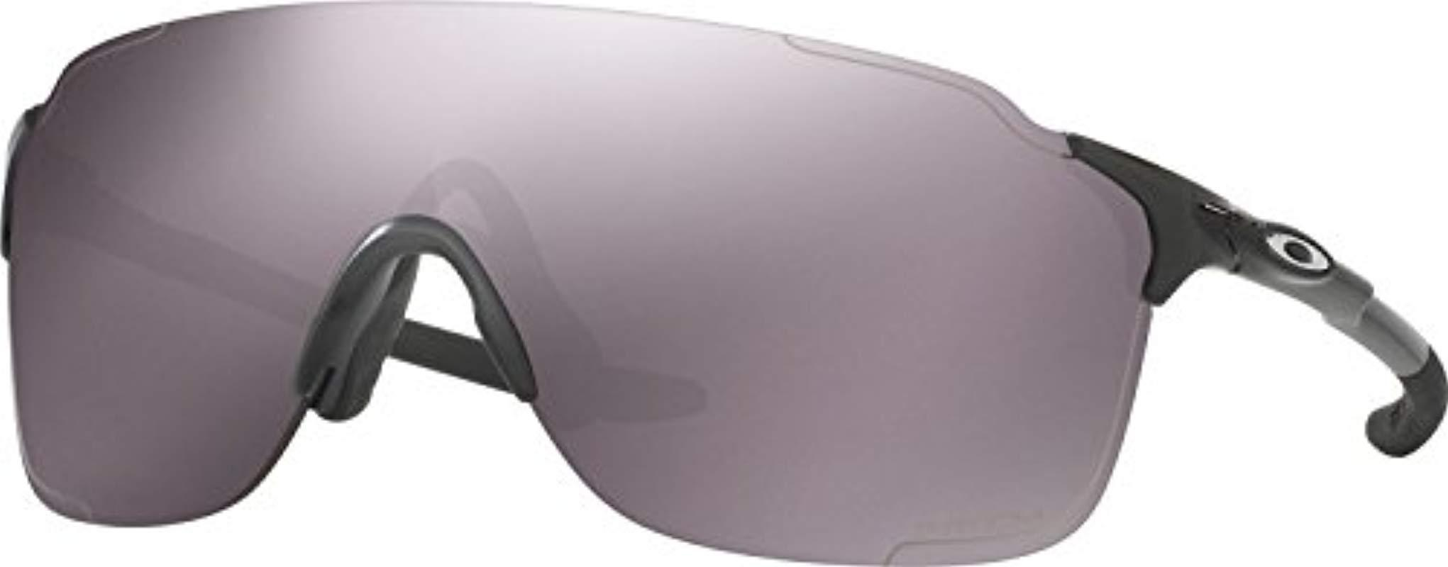 20a40934216c3 Lyst - Oakley Oo9386 38 Evzero Stride Black black Sunglasses 38mm in ...