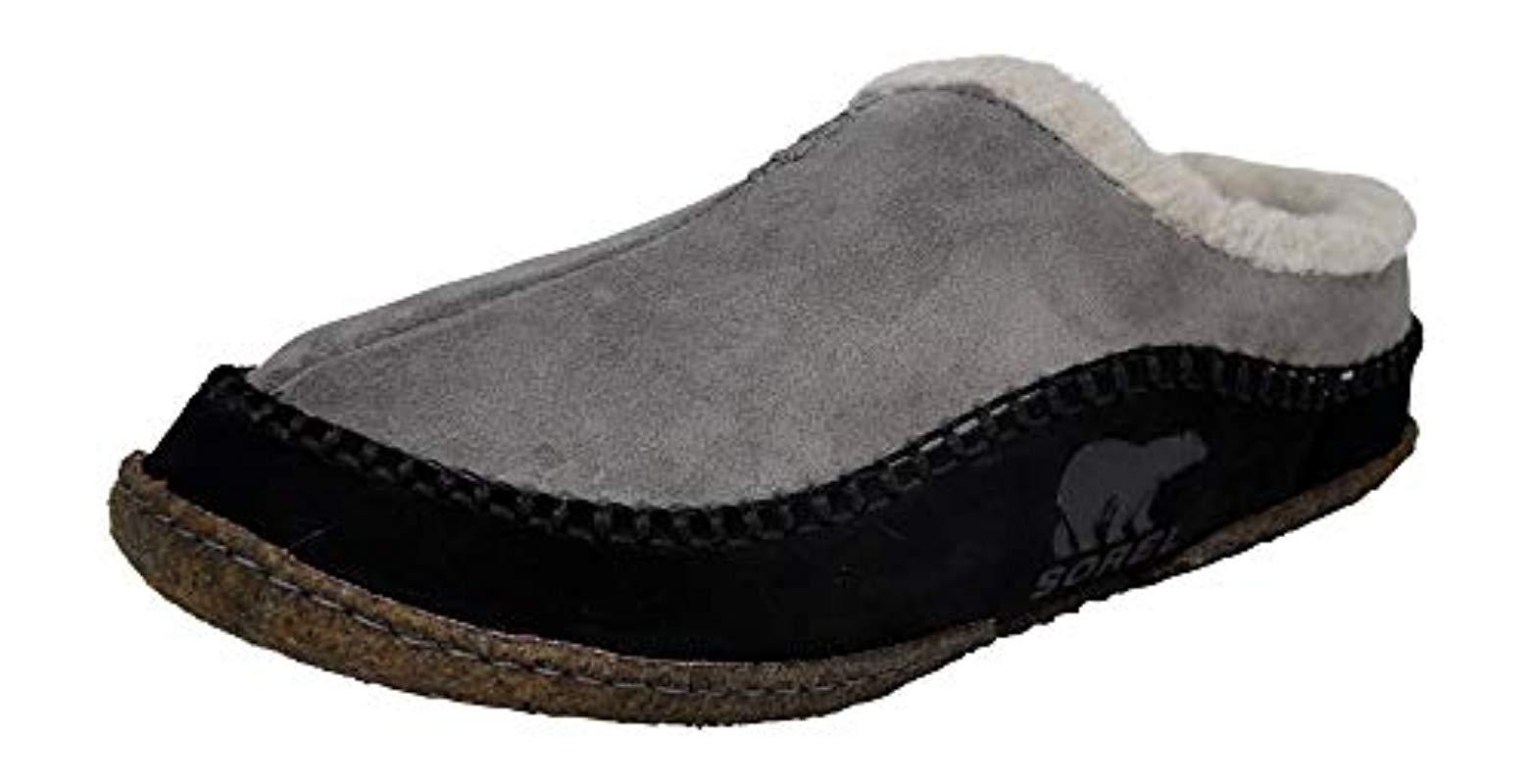 931252479110 Lyst - Sorel Falcon Ridge Slipper in Black for Men - Save 16%