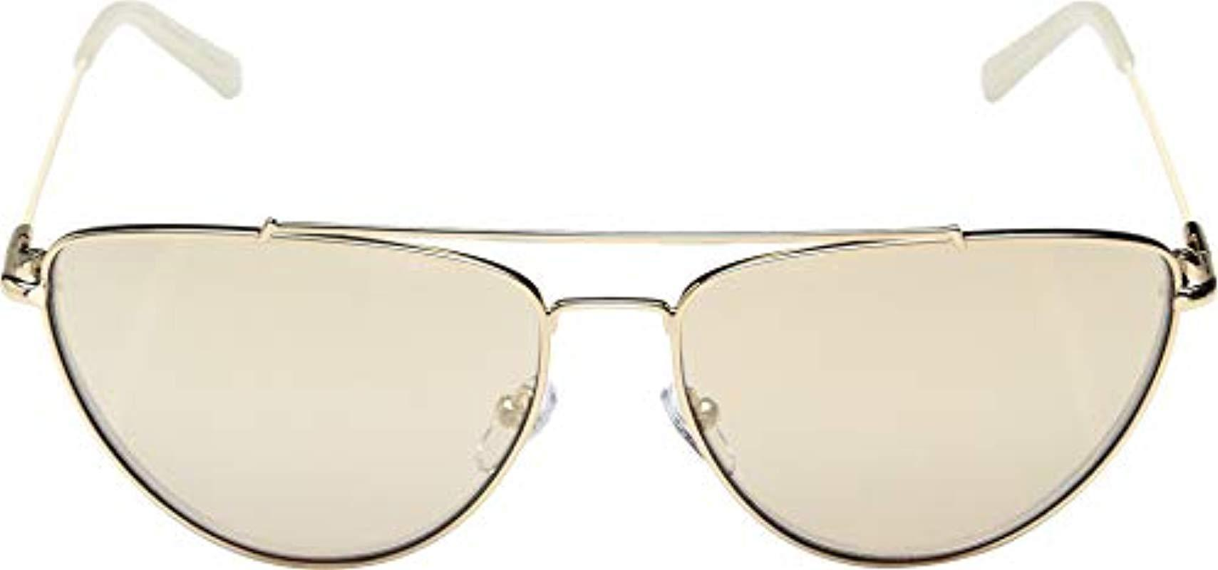 c7de76564873d ... Diane Von Furstenberg 122s Krista Aviator Sunglasses - Lyst. View  fullscreen