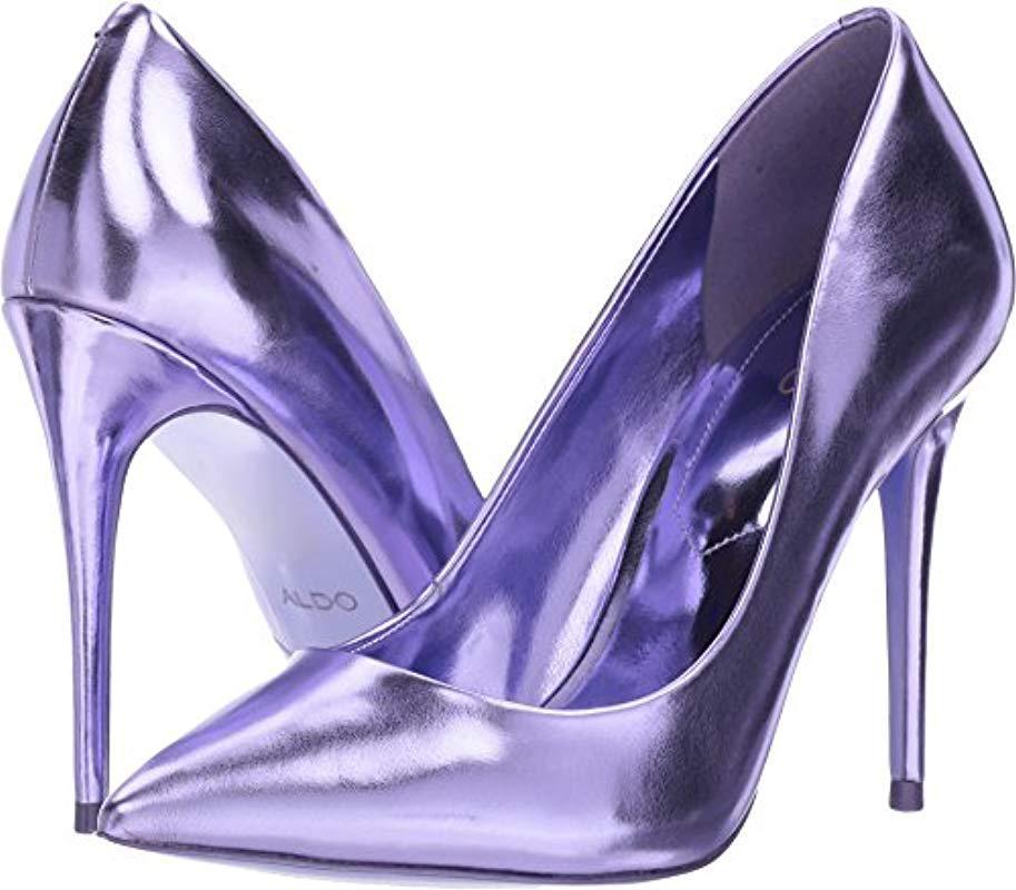 4139b94ef822 Lyst - Aldo Stessy Pump in Purple