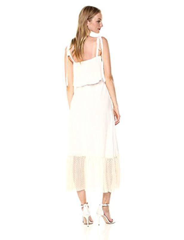 9347a6ced14 Lyst - Only Hearts Sanibel Ribbon Tie Sundress in White - Save 80%