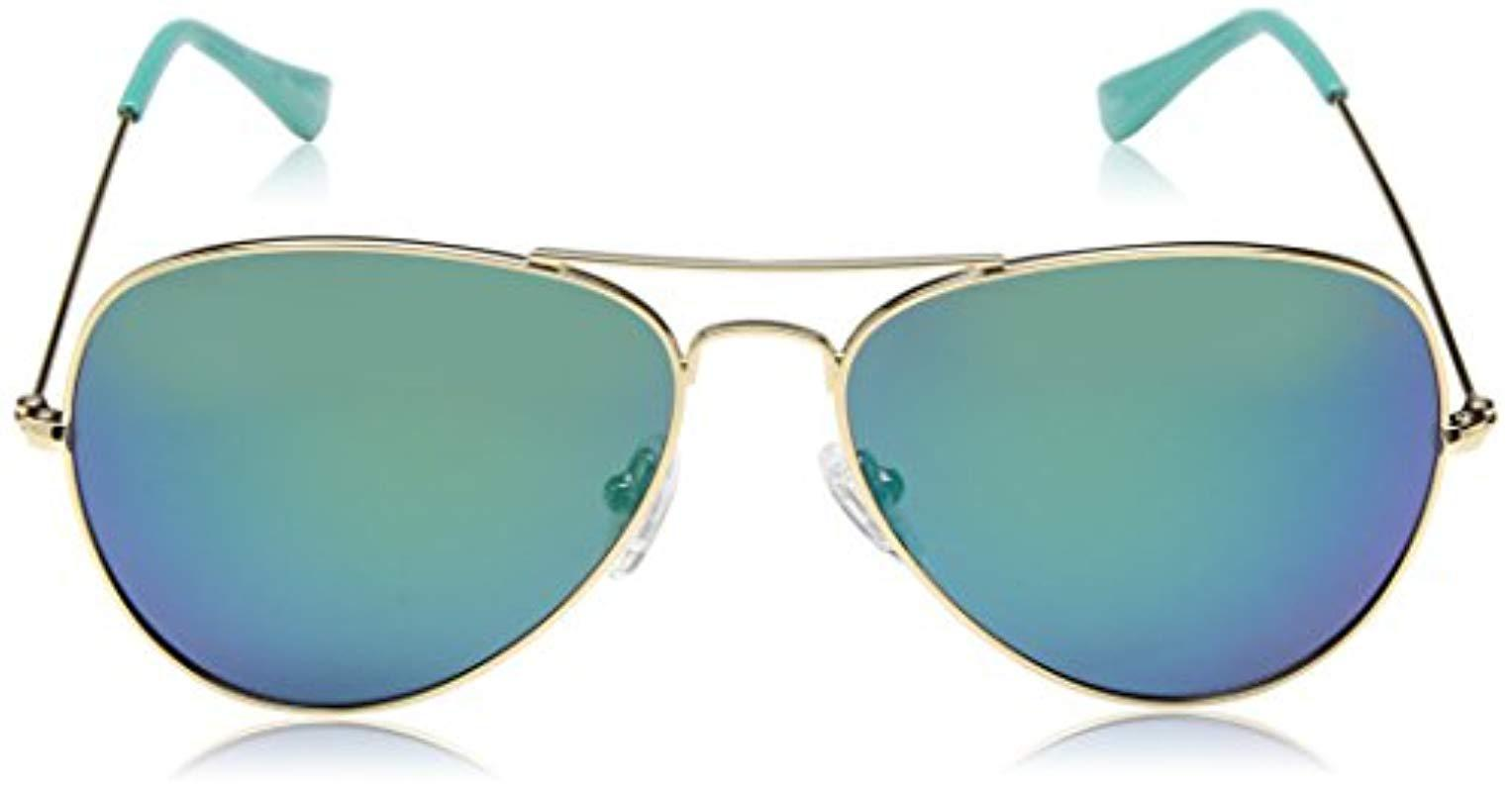 51137ad514a Lilly Pulitzer - Blue Lexy Lexysb59 Polarized Aviator Sunglasses - Lyst.  View fullscreen