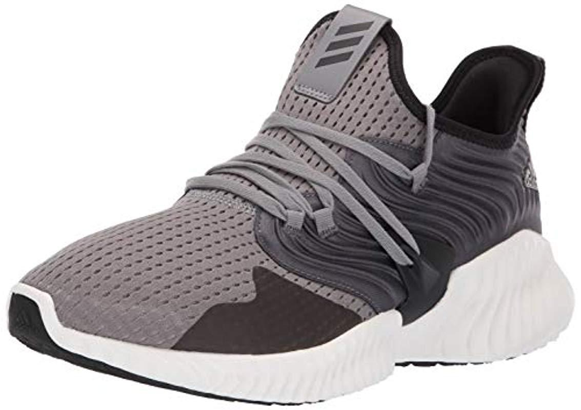 online retailer fc250 1acd0 adidas. Mens Gray Alphabounce Instinct Cc
