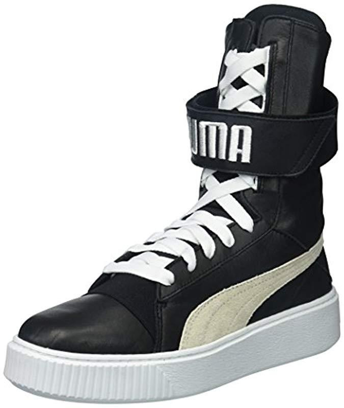 1954e8a56246 Lyst - Puma Platform Boot Wn in Black - Save 47.87234042553192%