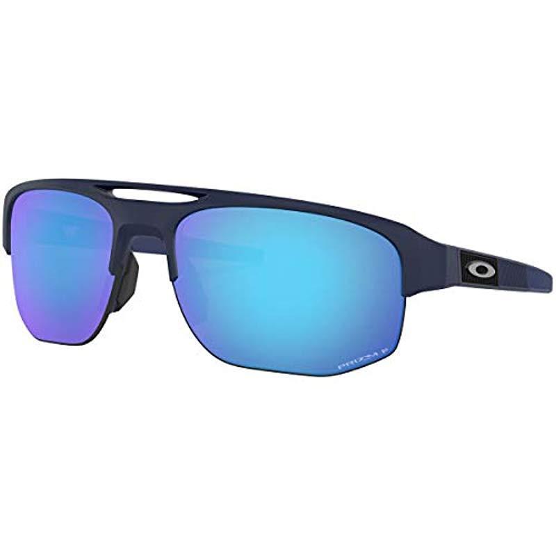 a313fbaa2ea6c Lyst - Oakley Mercenary Prizm Sunglasses in Blue for Men