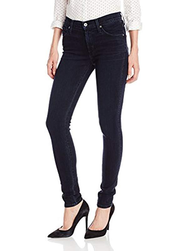 a4763388a3acf James Jeans Twiggy 5-pocket Jean Legging In Bombshell in Blue - Lyst