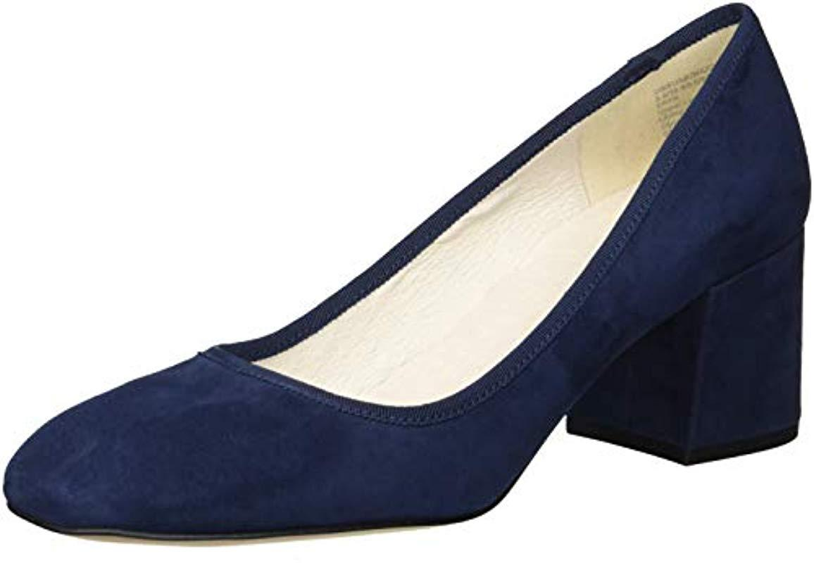 510541ce37c Women's Blue Eryn Low Heel Square Toe Dress Pump