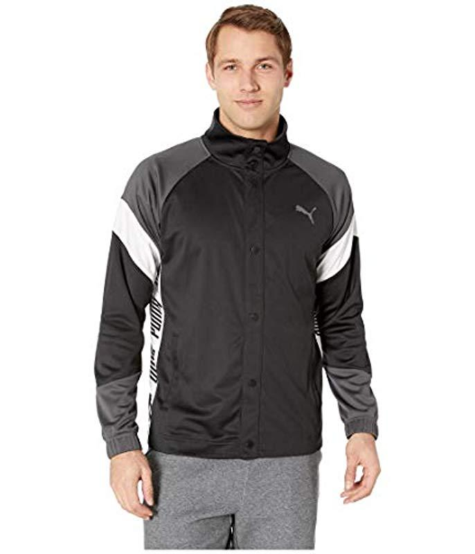 3eba4ff37d1f Lyst - PUMA A.c.e. Track Jacket in Black for Men