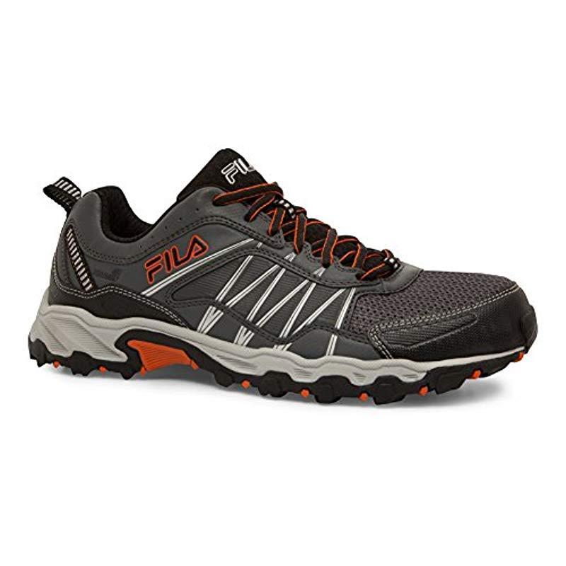 55d7b7e4ac Lyst - Fila At Peake 18 Trail Running Shoe in Black for Men - Save 29%