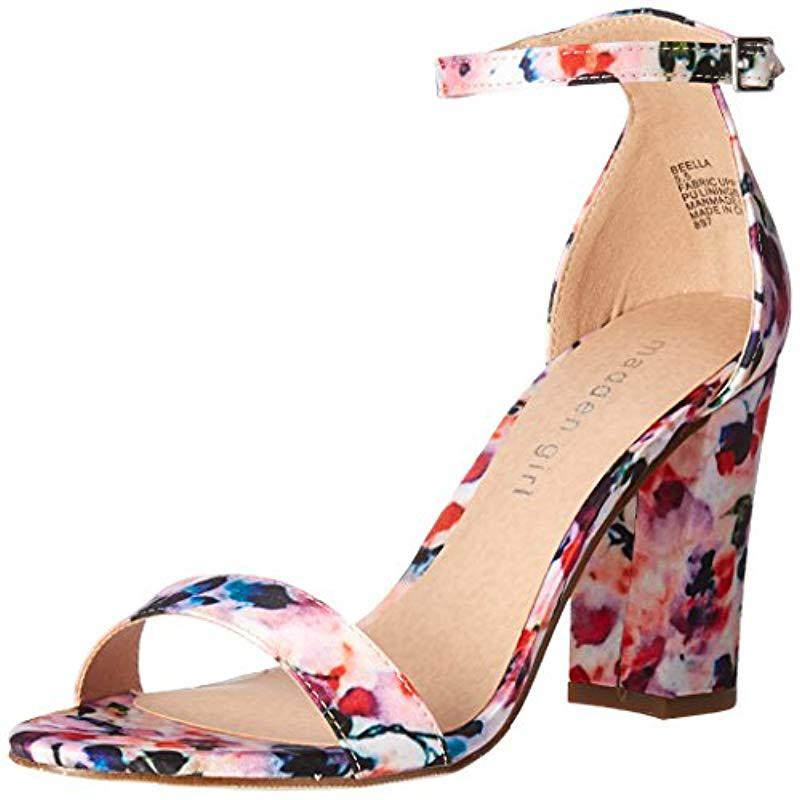 36a8824671e8 Lyst - Madden Girl Beella Dress Sandal in Pink - Save 10%