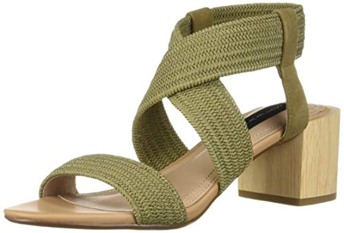 aa2e3a94963 Lyst - Steve Madden Release Olive Multi Sandal 8.5 Us in Green