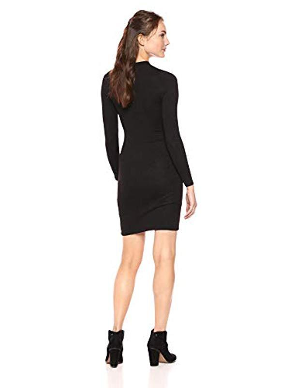bf0ca9a5261 Lyst - French Connection Sweeter Sweater Dresses in Black