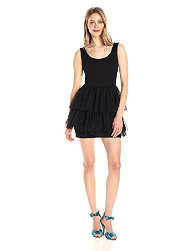 cb7290c8b4c Lyst - SJP by Sarah Jessica Parker Title Dress in Black