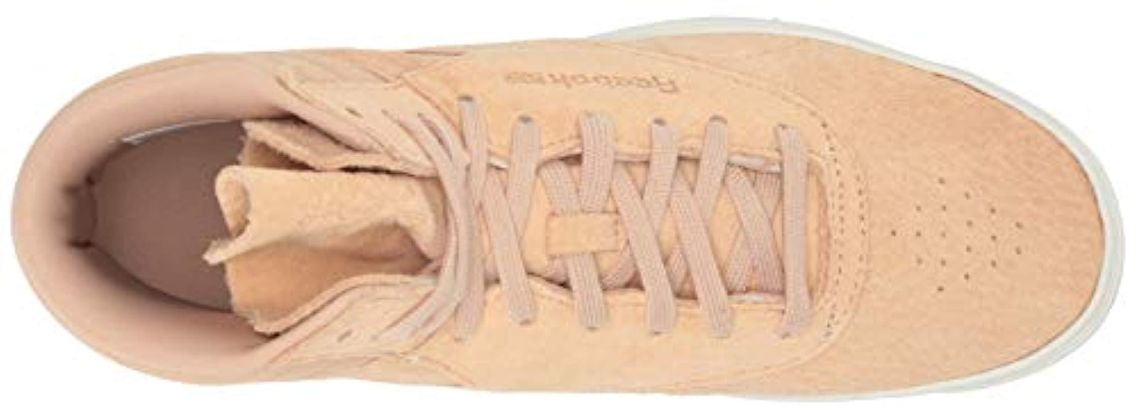 2ee17d3b047490 Lyst - Reebok Freestyle Hi Nova Sneaker in Natural - Save 10%