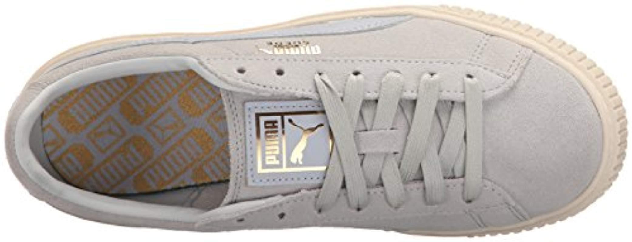 7dbfca99bb1 PUMA - Multicolor Suede Platform Core Fashion Sneaker - Lyst. View  fullscreen