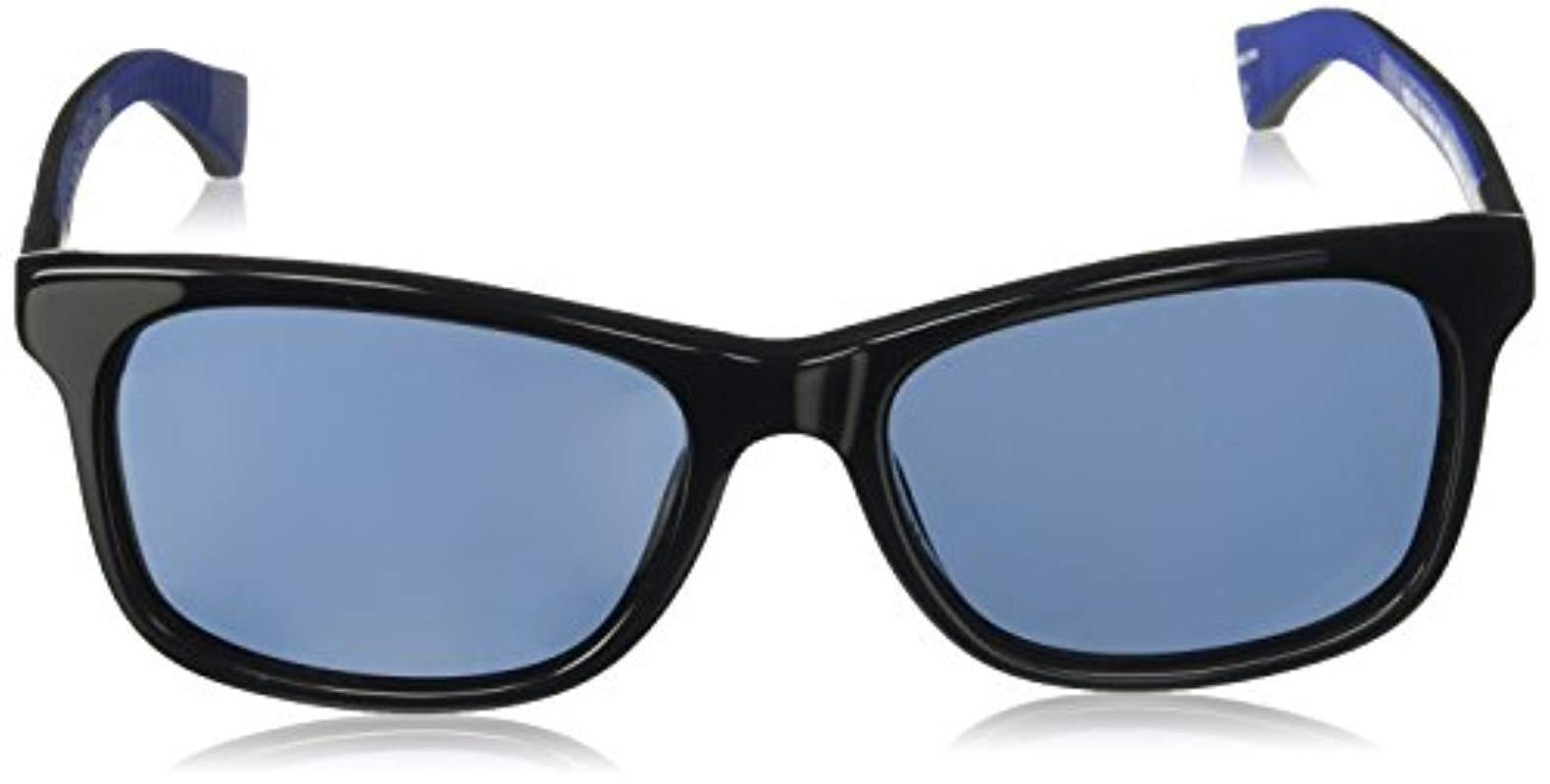 f28d6a8bf85 Cole Haan - Black Ch6018 Plastic Square Sunglasses