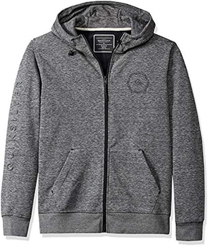 Quiksilver Mens Freedom Hoodie Fleece Jacket EQYFT03809