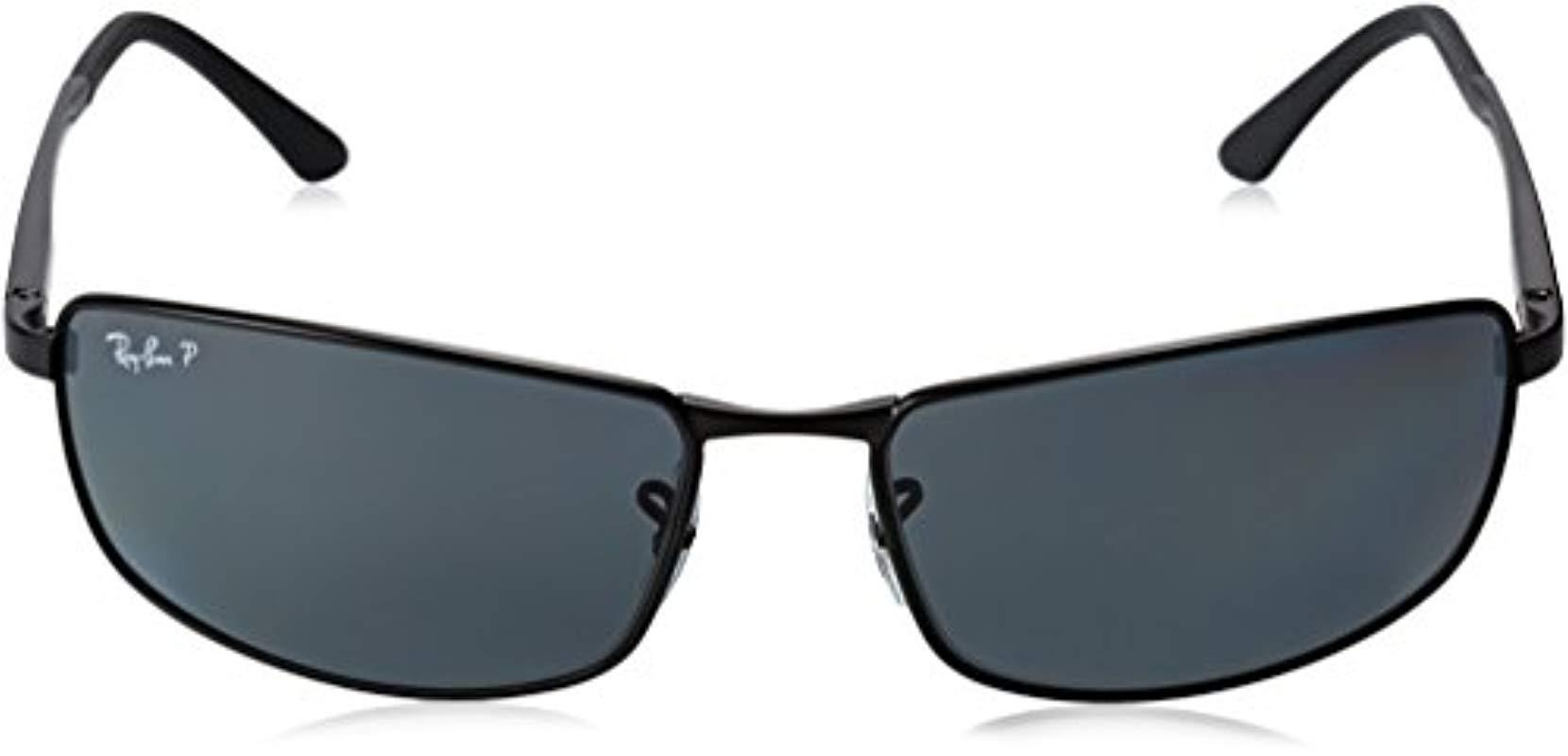 4cd09f40289 Ray-Ban - Black Rb3498 Sunglasses for Men - Lyst. View fullscreen