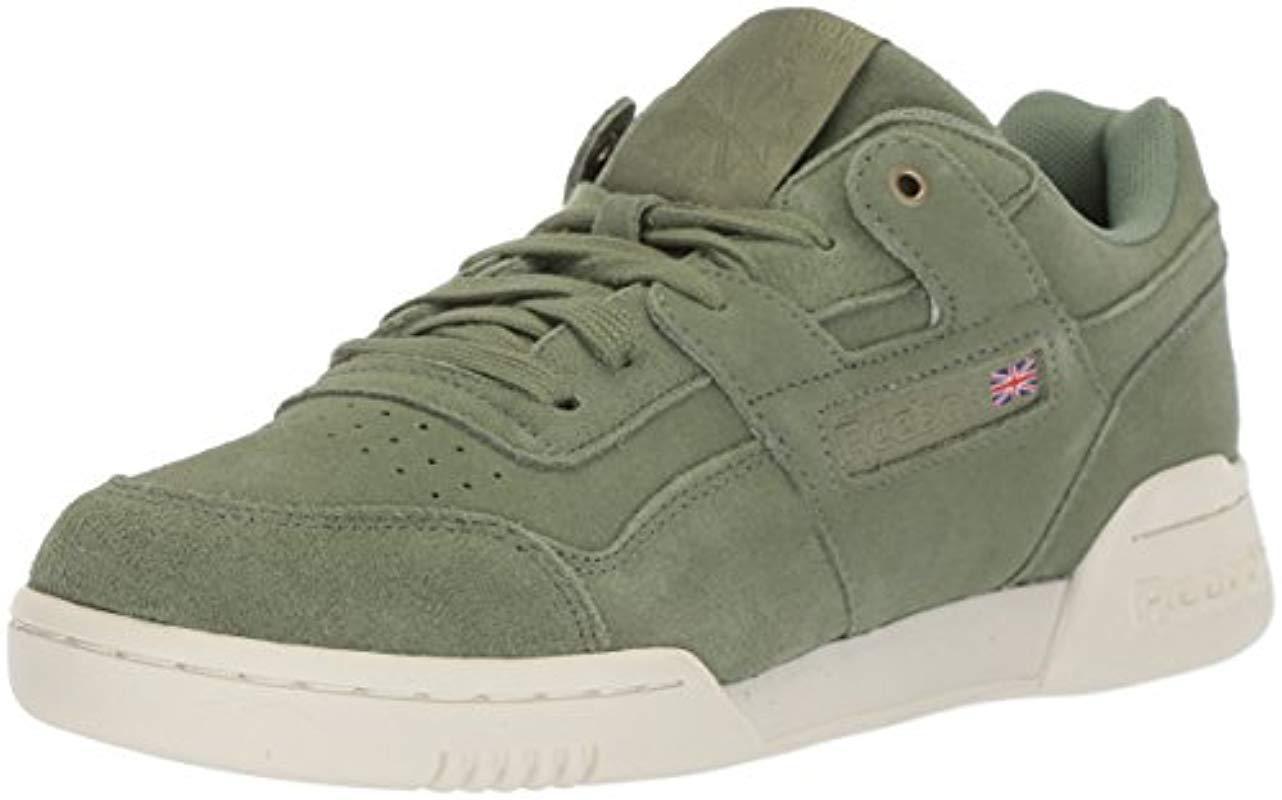 06d5bc28cf0b Lyst - Reebok Workout Plus Mcc Sneaker in Green for Men - Save 20%