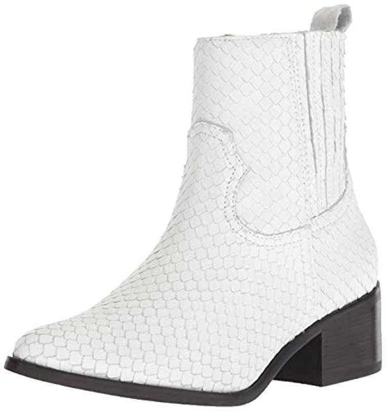 13c09961c2676 Lyst - Steven by Steve Madden Walden Fashion Boot in White - Save 46%
