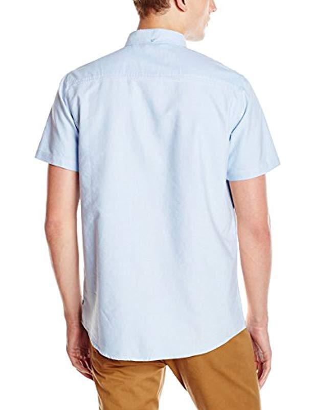 47716cfa8c94a Lyst - Tavik Uncle Short Sleeve Shirt in Blue for Men