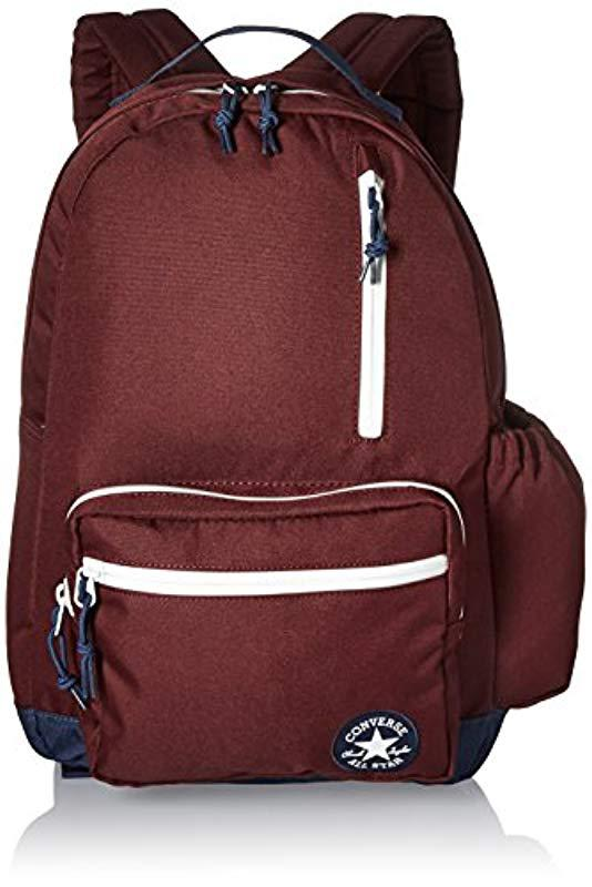 Lyst - Converse Go Backpack Backpack in Red - Save 41.02564102564103% cb0b67dcc0