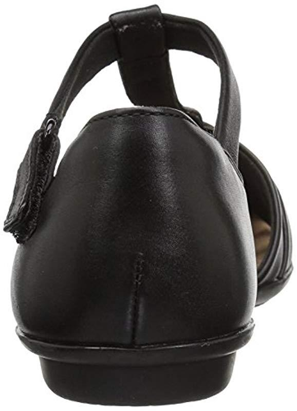 4bdc2f9a980b Clarks - Black Gracelin Art Mary Jane Flat - Lyst. View fullscreen