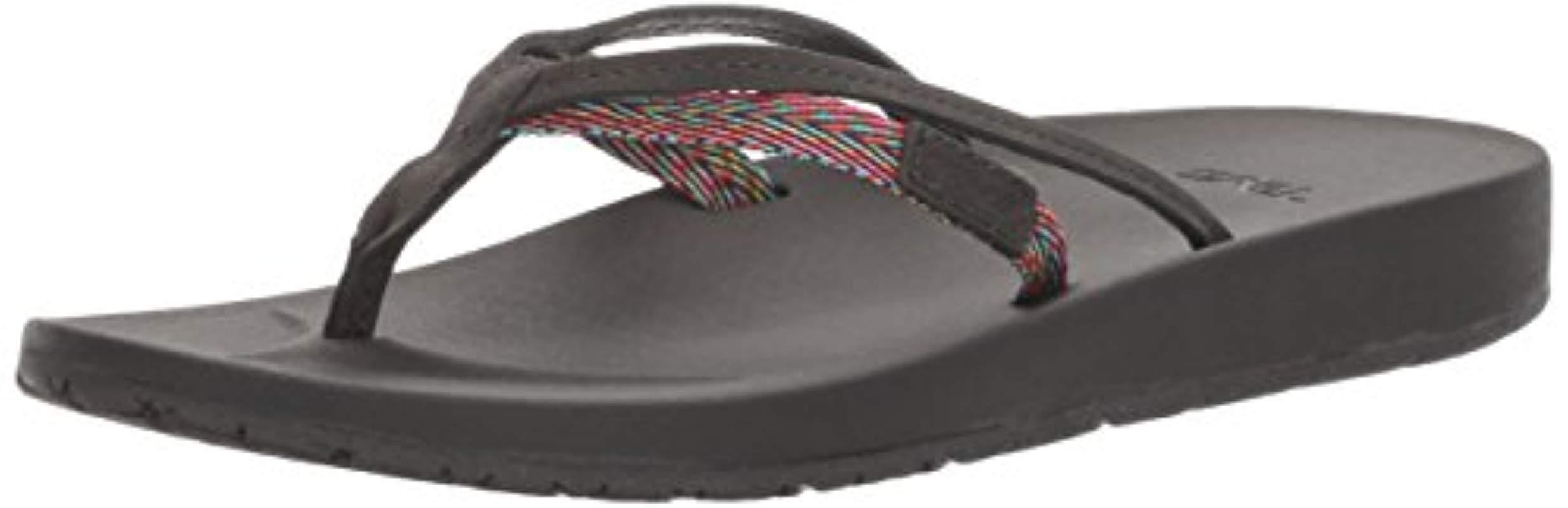 9f2fbd47305599 Lyst - Teva W Azure 2 Strap Sandal in Black