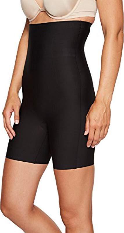 e74aa1f6ebf2b Yummie - Black Hidden Curve High Waist Firm Control Thigh Shaper Shapewear  - Lyst. View fullscreen