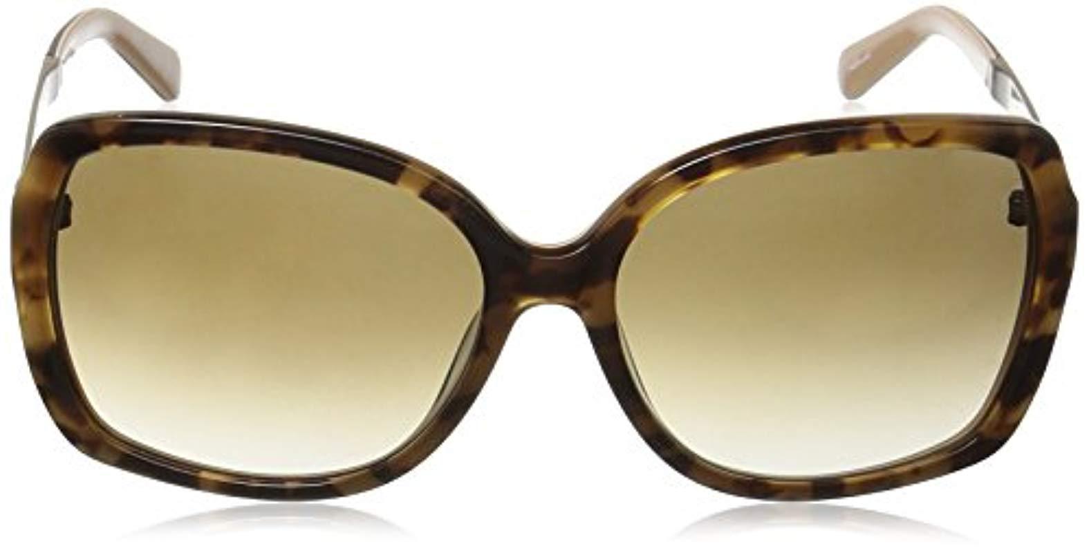 7f69b30c1b4ec ... Brown Kate Spade Darilynn Darils Square Sunglasses - Lyst. View  fullscreen