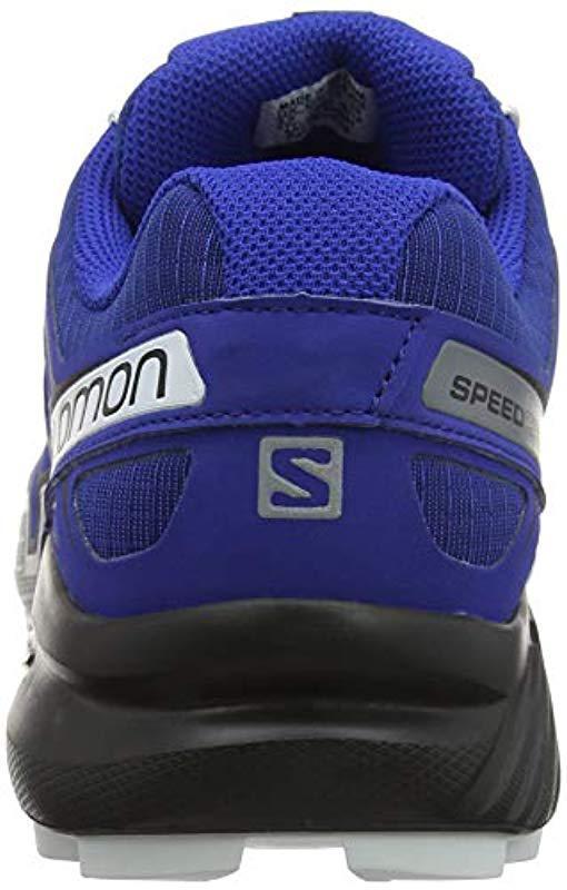 fa644a20db24a0 Lyst - Yves Salomon Speedcross 4 Trail Running Shoe in Blue for Men ...