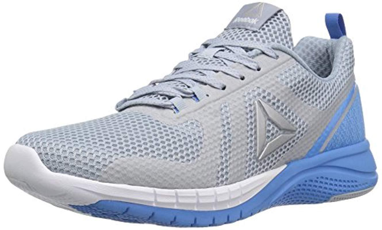 67159ac8ceb2 Lyst - Reebok Print 2.0 Running Shoe in Blue