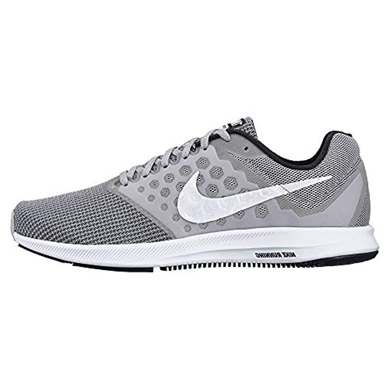 9ac7cb3524ce0 Lyst - Nike Downshifter 7 Running Shoe in White for Men