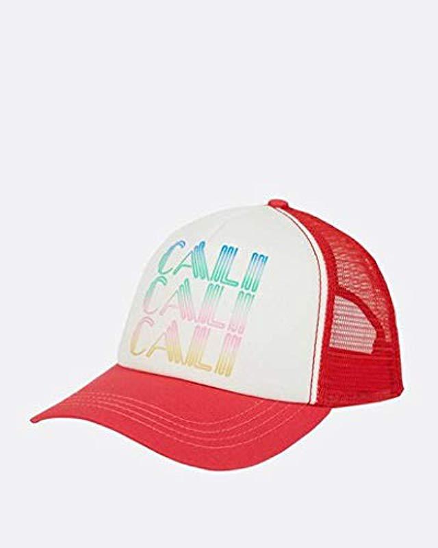 Billabong. Women s Cali Trucker Hat 9c3c8f5d3cea