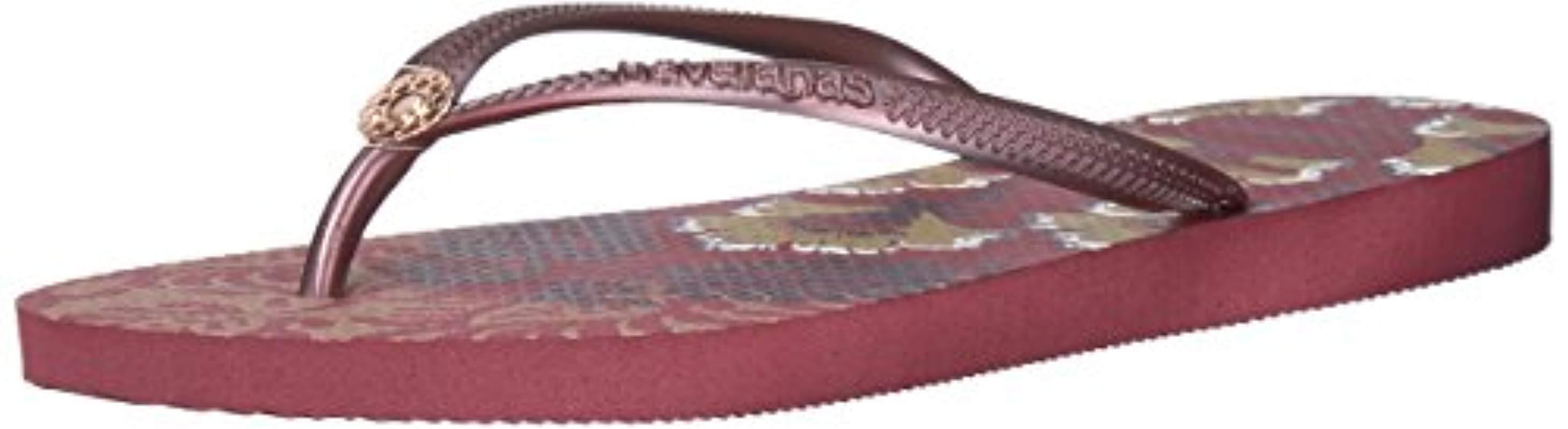c43d030e6d78 Havaianas. Women s Purple Slim Flip Flop Sandals