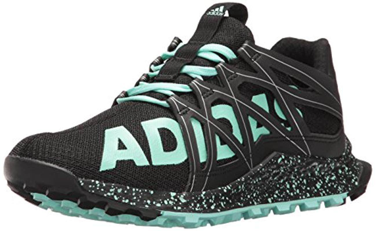 c04b741881a Lyst - adidas Vigor Bounce W Trail Runner in Black