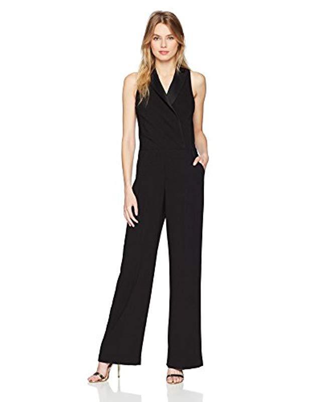eb61b1ea9ddd Lyst - Trina Turk Clientele Jumpsuit in Black