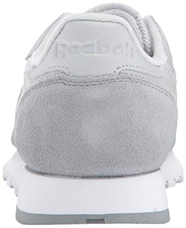 39ff0b12866 Lyst - Reebok Cl Leather Mo Fashion Sneaker in Gray for Men - Save 51%