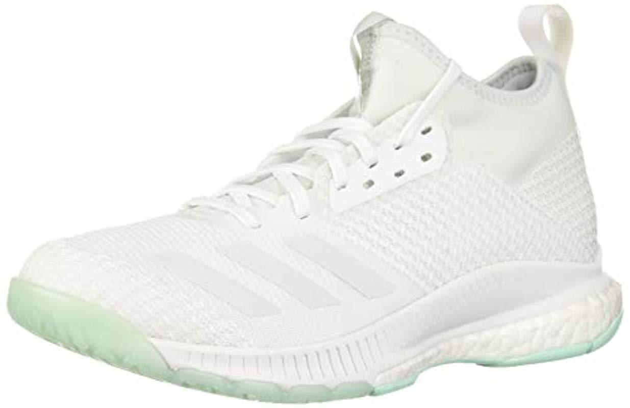 newest 2fb31 d13b6 adidas. Womens White Crazyflight X 2 Mid Volleyball Shoe