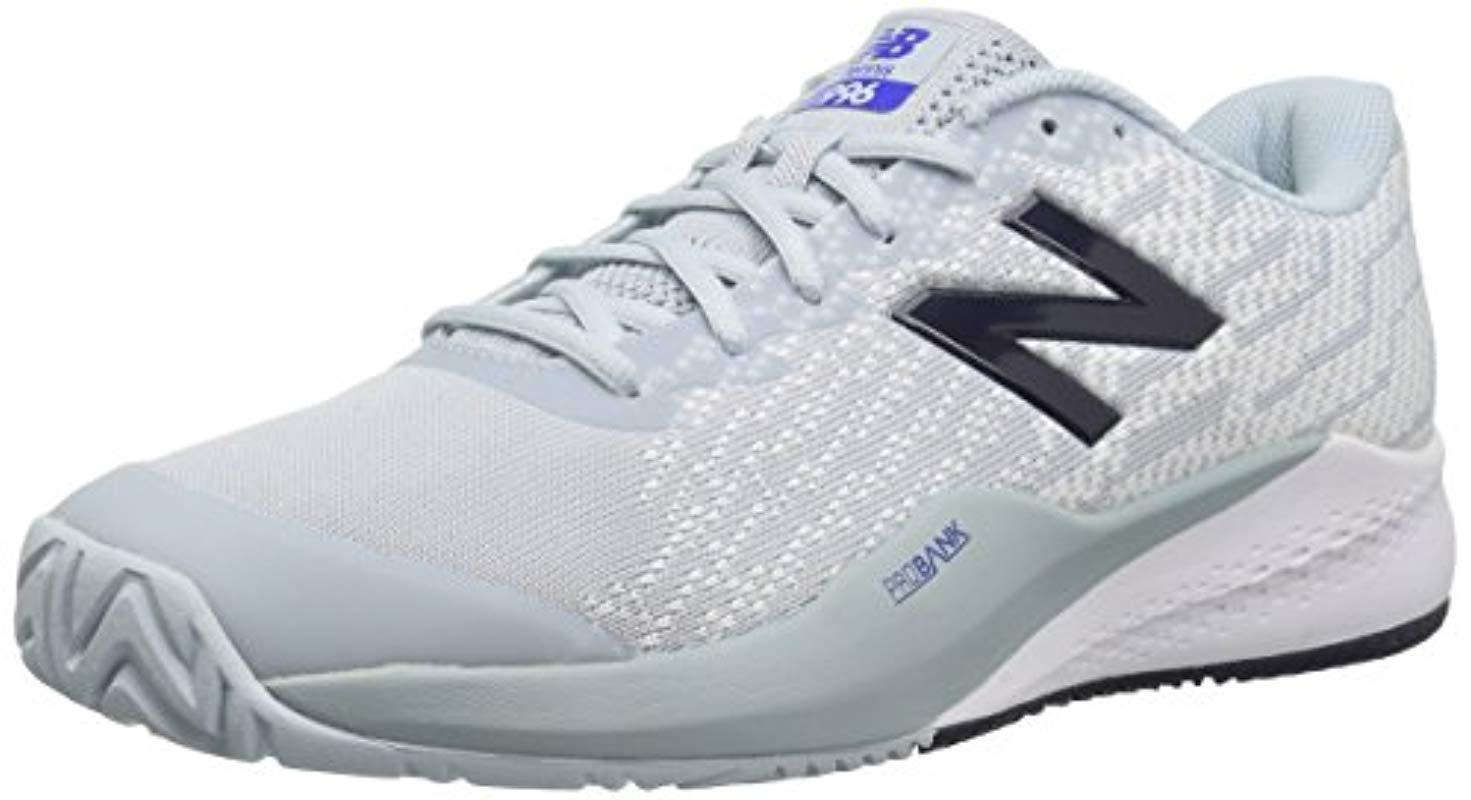 New Balance Gray S Mch996g3 Low Top Lace Up Tennis Shoes for Men Lyst