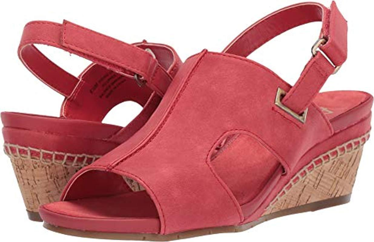 f1d2cf70a362 Aerosoles. Women s Pound Cake Wedge Sandal