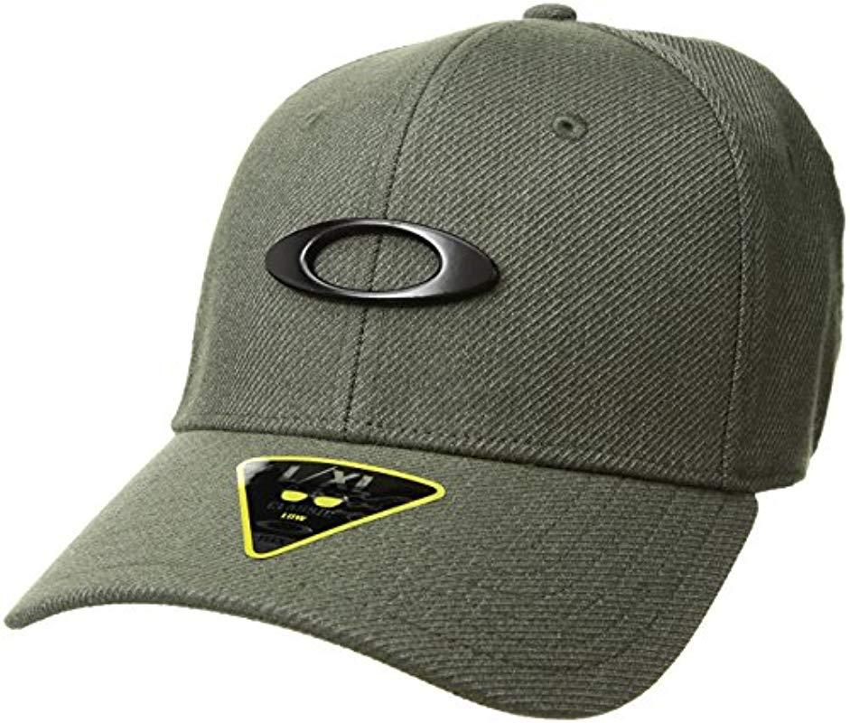 size 40 10612 fca58 Oakley Novelty Tin Can Cap Hat in Green for Men - Lyst