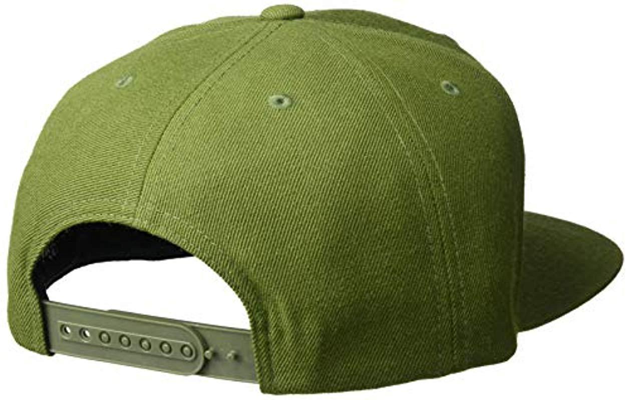 af9306105f4 Brixton - Green Jolt Medium Profile Adjustable Snapback Hat for Men - Lyst.  View fullscreen