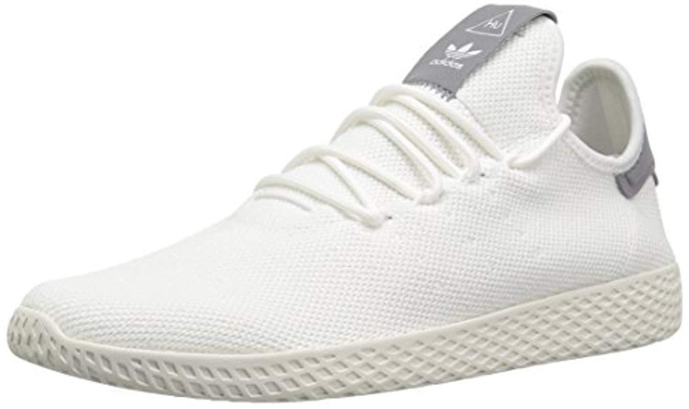 5dd8e91d10388 Pw Lyst For White Tennis Hu Shoe Men In Originals Adidas RR6PvrqE