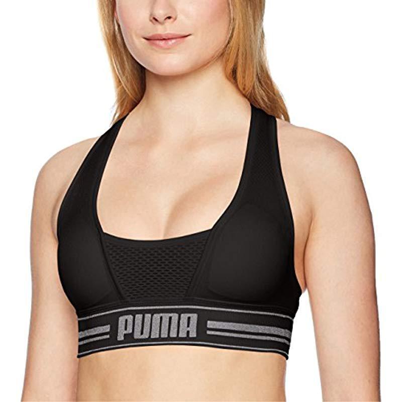 41832b9fc5 Lyst - Puma Seamless Sports Bra