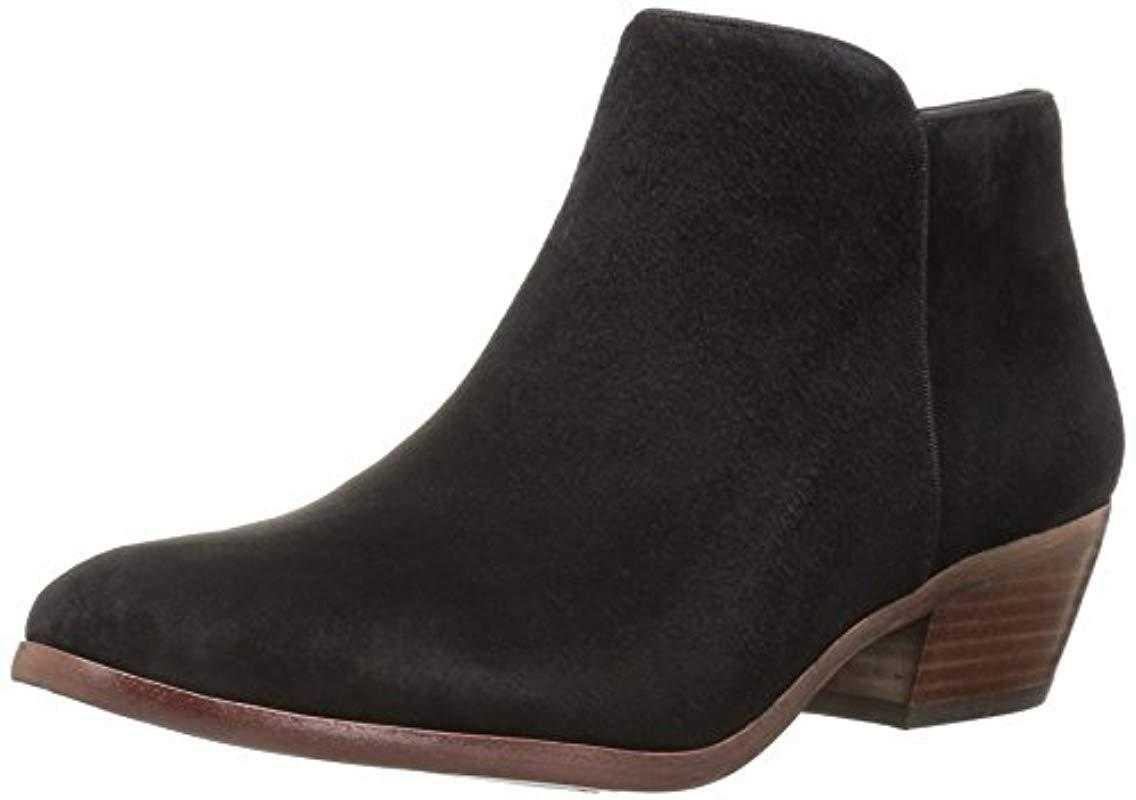 8ddc2d5d055a8c Lyst - Sam Edelman Petty Ankle Boot in Black - Save 1.0%