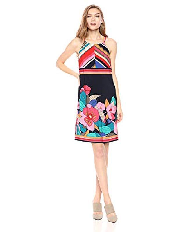 c41933a2fd13 Lyst - Trina Turk Vacaciones Dress in Red
