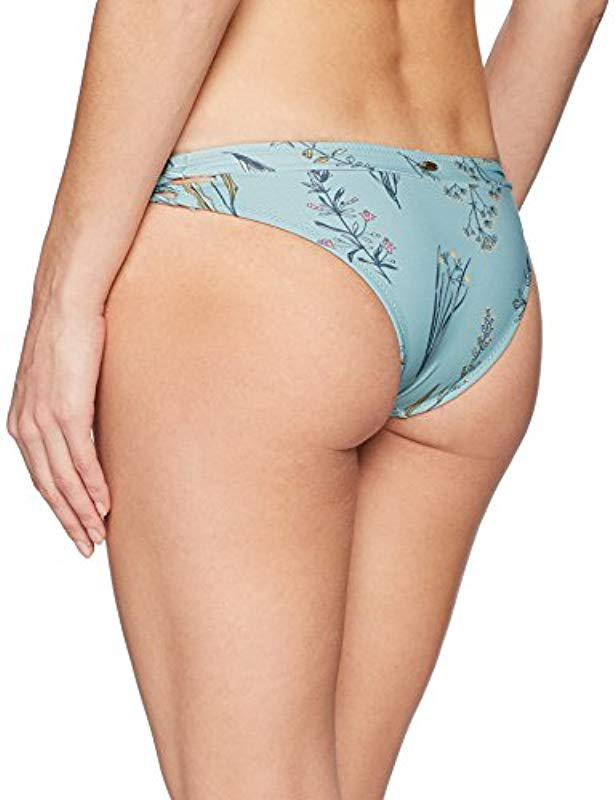 6ccbe4985c7 Lyst - O'neill Sportswear Piper Floral Cut Out Hipster Bikini Bottom  Swimsuit in Blue - Save 30%