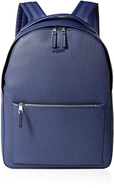 Lacoste. Men s Blue Chantaco Backpack c3e9f165a6837